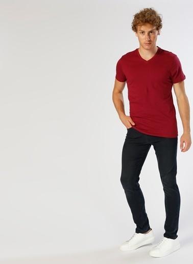 Loft Loft Lacivert Klasik Pantolon Renksiz